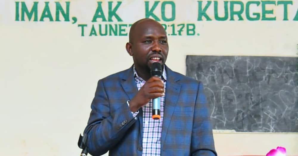 Murkomen is the Elgeyo Marakwet senator.