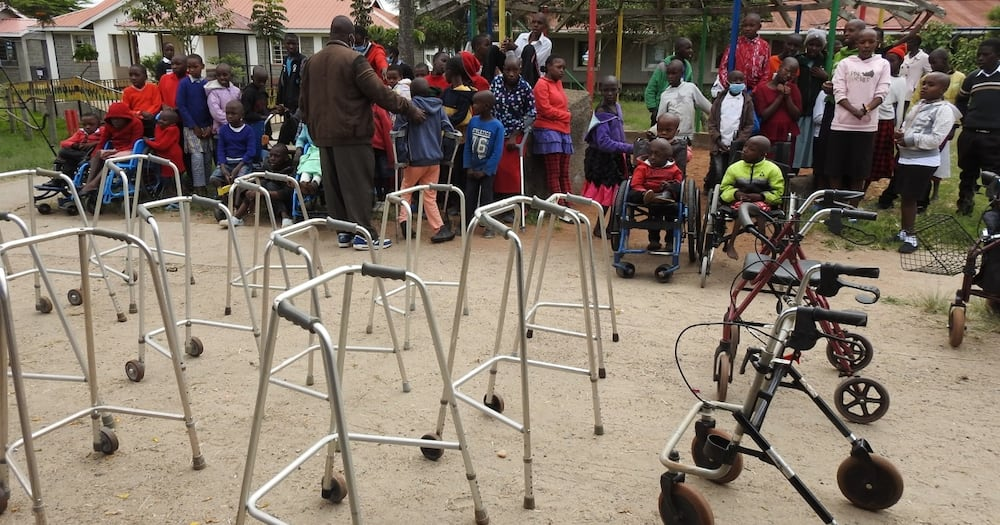 Daughters of Gideon Moi Bless Less Fortunate Children with Various Donations, Appeal for More Wheelchairs