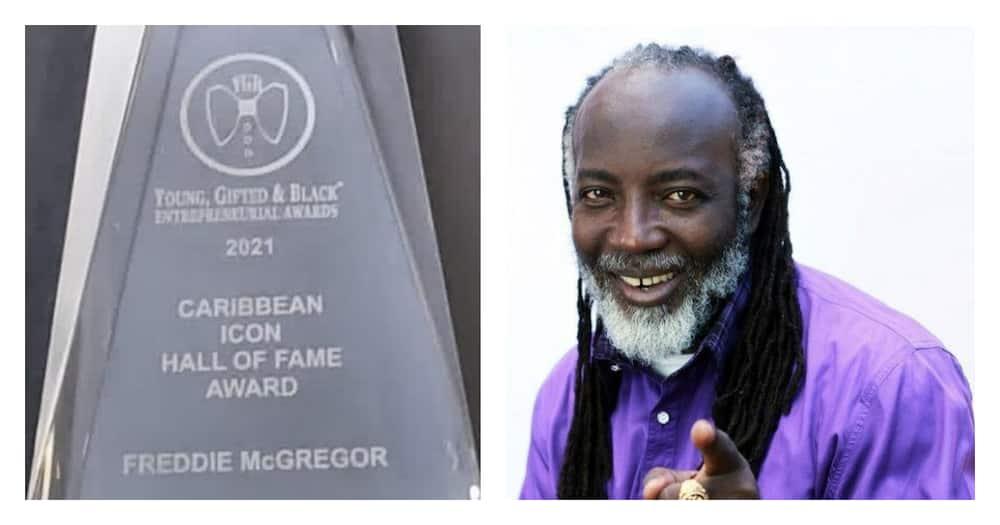 Freddie McGreggor awarded 2021 Caribbean Icon Hall of Fame Award