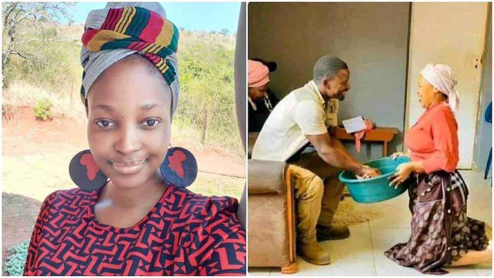 The lady identified as Ifeyiwa Mkhize. Photo source: @Ifeyiwa Mkhize.