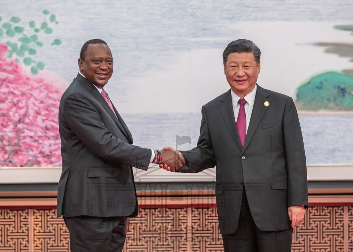 Uhuru silently flies back after 4 days-long trip to China