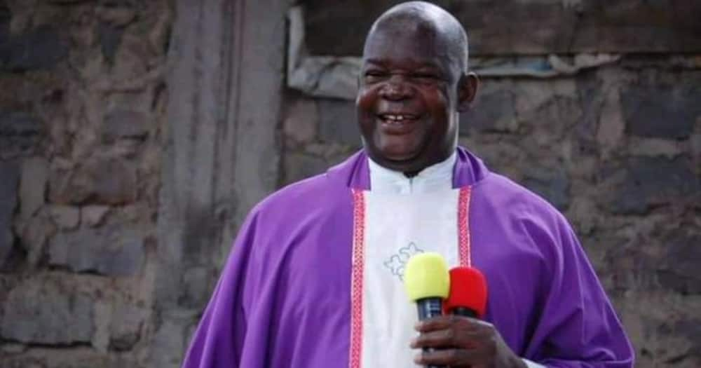 Father Wanyonyi was a celebrated priest from Bungoma.