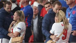Emotional Moment England Star Consoles Sobbing Wife in Crowd After England's Painful Loss to Italy