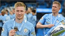 Man City Star Kevin de Bruyne Wins Prestigious Premier League Award Ahead of Harry Kane