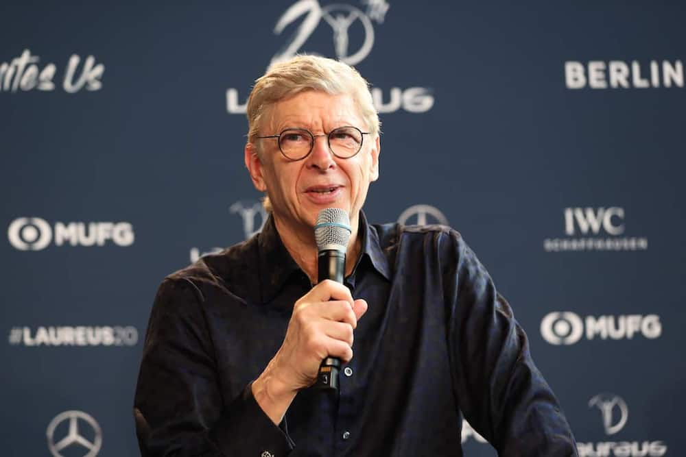Arsene Wenger during a past event. Photo: Getty Images.