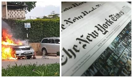 American newspaper New York times remains unapologetic for sharing graphic images of DusitD2 attack amid outcry from Kenyans