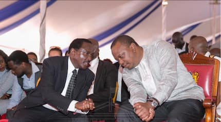 Orphaned Kalonzo asks Uhuru to help him take care of his family after father's demise