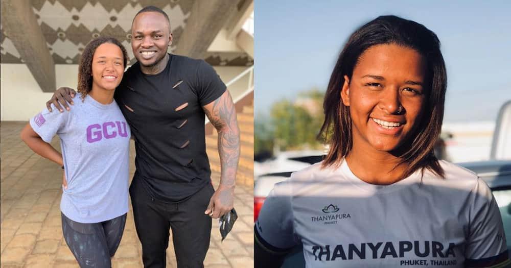 Khaligraph Jones Elated as Beautiful Sister-In-Law Is Set to Represent Kenya in The Olympics