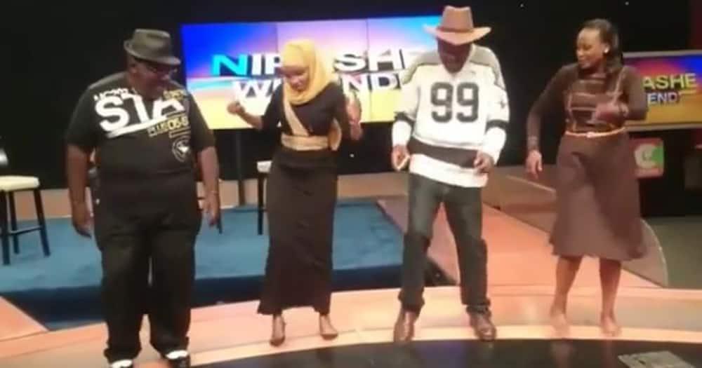 Ken Gichoya Aka Njoro Fondly Shares Video of Late Papa Shirandula Dancing Blissfully