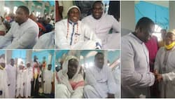 Reverend Father Peter Ayanbadejo: Popular Christian Cleric Joins Muslims for Prayer in Mosque