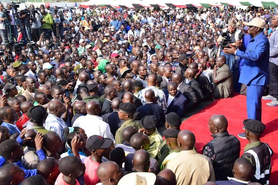 """Raila hints he'll not vie for presidency in 2022: """"It's not a must"""""""