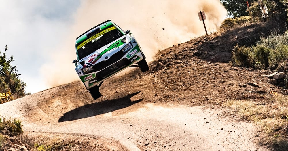 WRC Safari Rally car in action. Sections of roads will be closed. Photo: World Rally Championship.