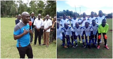 Luthers Mokua: The inspiring man using football to weave dreams, change lives in Nyamira County