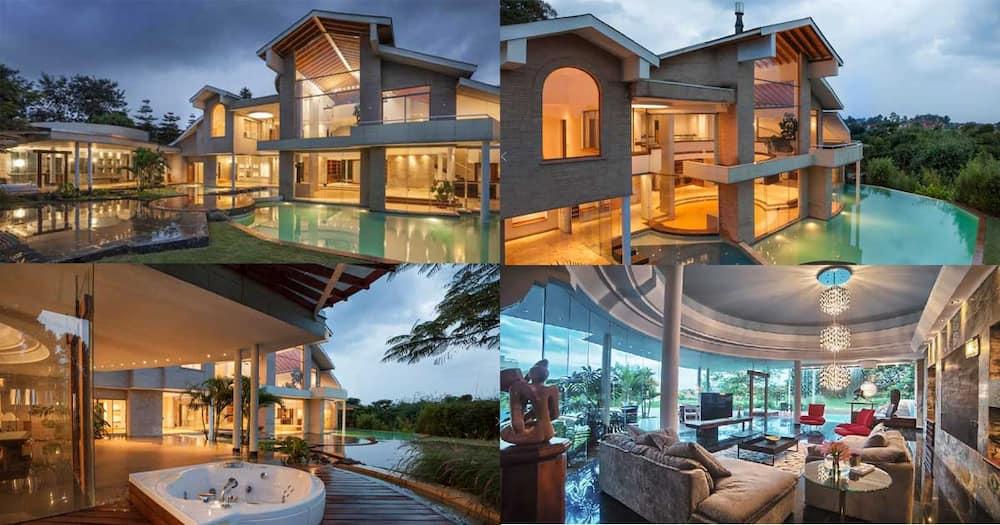 The Kitusuru mansion worth hundreds of millions.