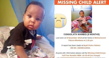 Help find this cute 8-month-old girl stolen from her mum in Mombasa