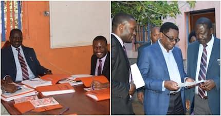 Raila Odinga holds strategic meeting with ODM officials as split looms in Uhuru's Jubilee