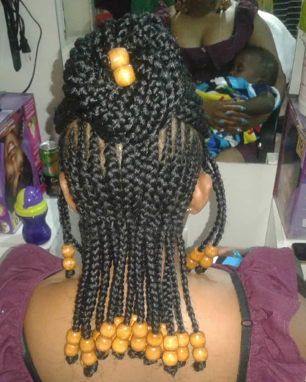 ghana cornrow