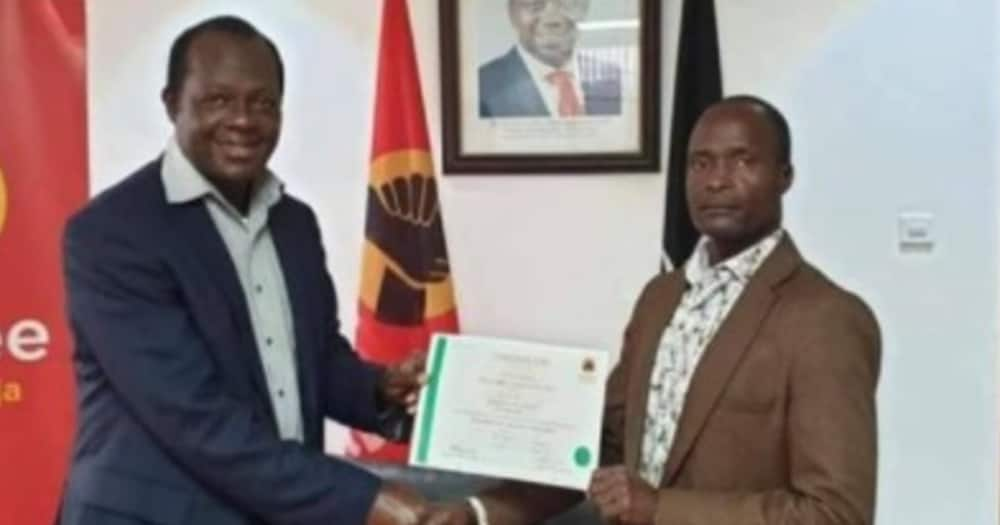 Nyeri Town MP Wambugu Ngunjiri accused Jubilee Party SG Raphael Tuju of going against the party's resoltuions.