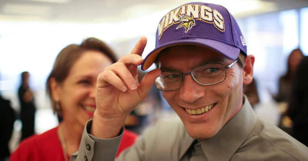 Damon Thibodeaux. Photo: Jeff Wheeler via Minneapolis Star Tribune.