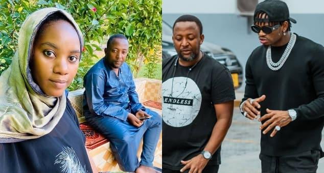 Diamond Platnumz's Wasafi label's manager Babu Tale loses wife