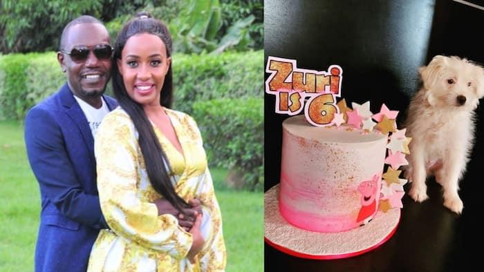"Teacher Wanjiku, Victor Ber Overjoyed as Their Daughter Zuri Marks 6th Birthday: ""Mama Forever Loves You"""