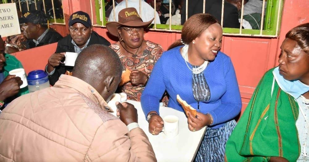 DP Ruto apokelewa kwa shangwe nyumbani kwa Ngunjiri Wambugu