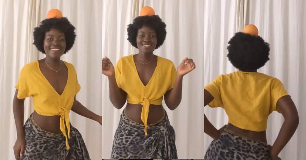 Lupita Nyongo awadondosha 'mafisi' mate na kiuno chake cha nyuki akidensi