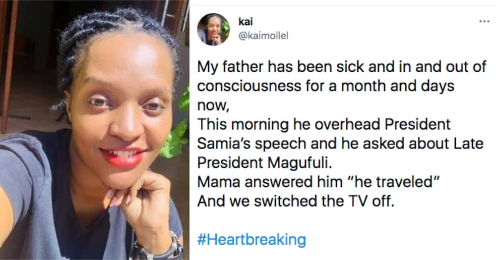 Tanzanian Man Who's Been Unconscious for Months, Asks Where Magufuli Was after Hearing Suluhu's Speech