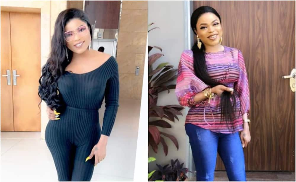 Bobrisky's new stirs reactions in new photos.