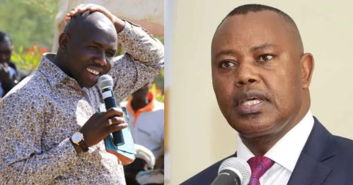 Image result for images of Murkomen Kipchumba in Arror and Kimwarer dams scandal