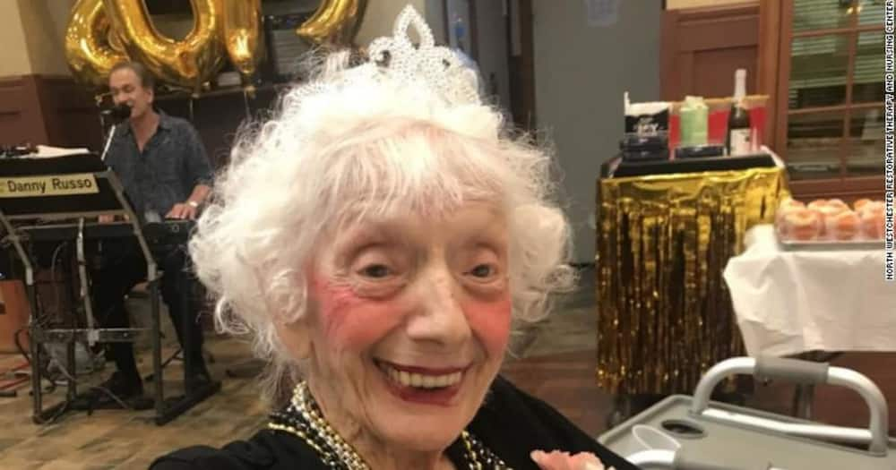 """102-year-old gogo beats Covid twice: """"She is a mover and a shaker"""""""