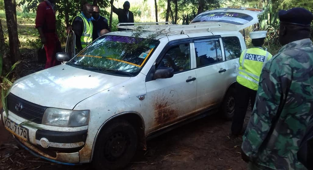 Bungoma traffic officer thrown out of speeding car, pistol stolen by suspects he had arrested