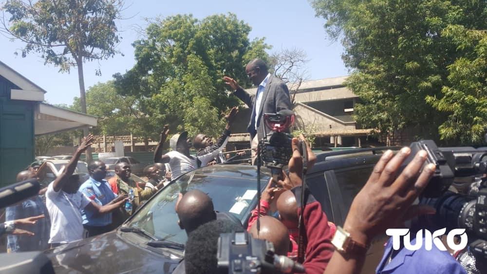 ODM chamtega Okoth Obado, chamtaka avuke mto wa mamba kwa kamba