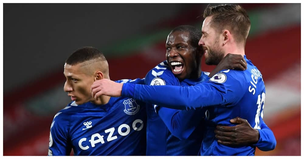 Deflated Liverpool lose again as Everton claim first win at Anfield in 22 years