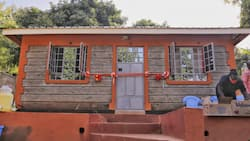 John Njenga: Police officers build permanent house for family of late colleague