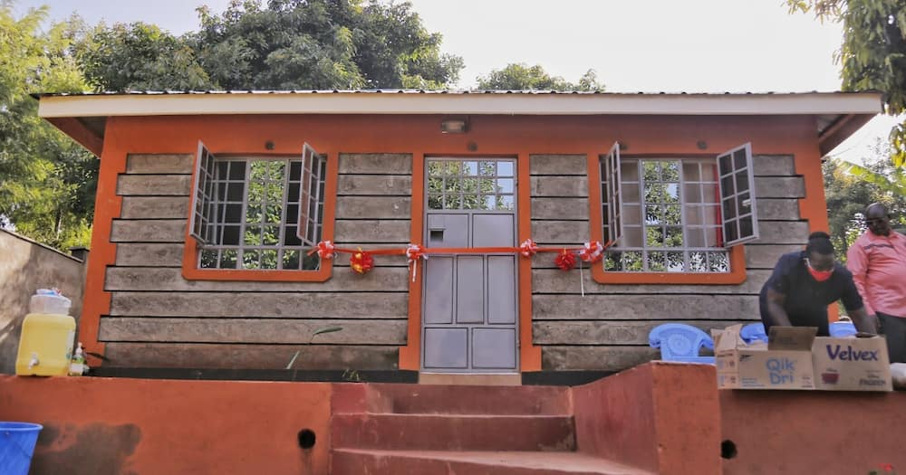 John Njenga: Police officers build permanent house for family of late cop