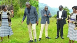 Kipchumba Murkomen Shares Lovely Photos as He Hangs Out With Mum and Dad, Receives Advice