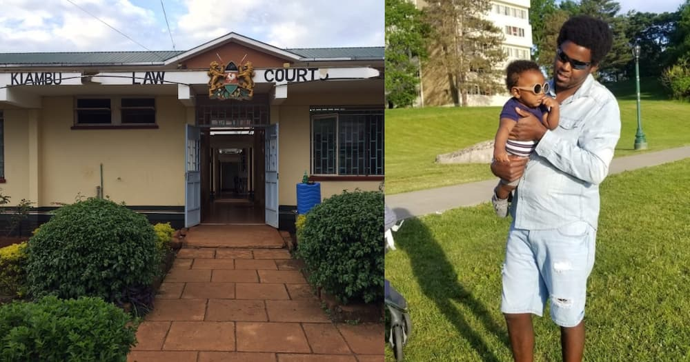 Peter Njoroge says his ex-girlfriend and mother plan on using the baby to extort him under the guise of child upkeep.