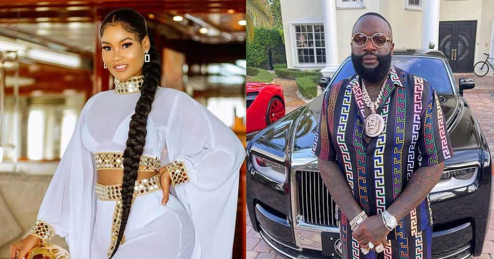 Hamisa Mobetto dating Rick Ross