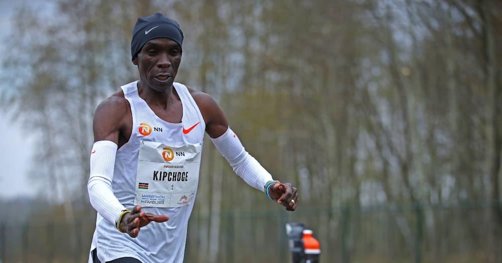 Marathoner Eliud Kipchoge.