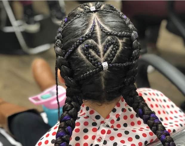 stylish cornrows hairstyles 2019