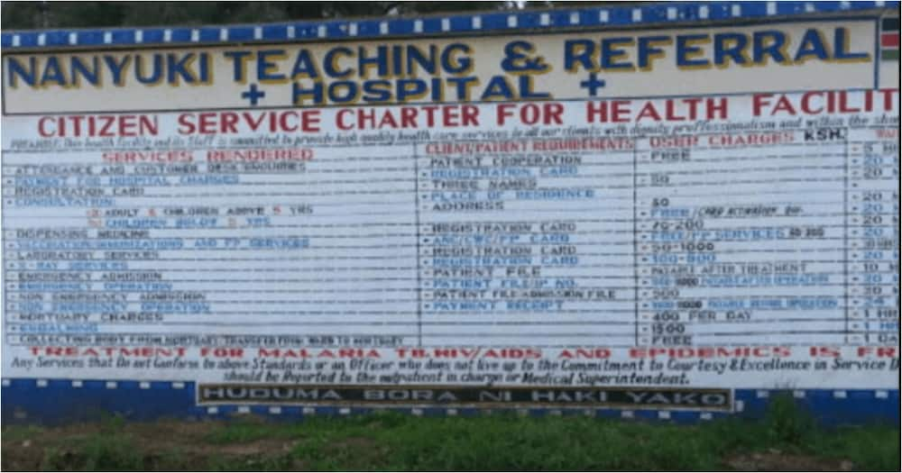 Laikipia County Sacks Two Nurses Who Left Patient to Die as They Attended Birthday Party