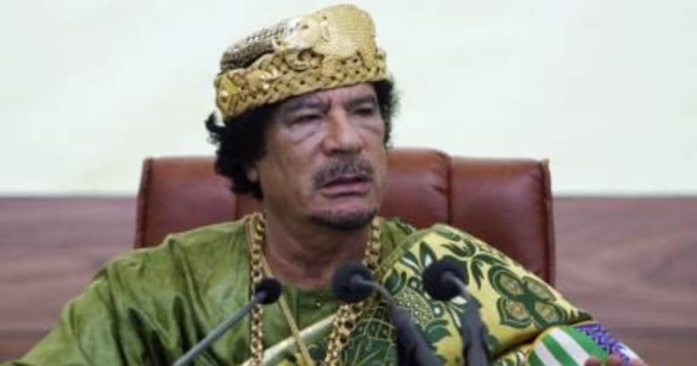 Huyu ndiye Muammar Gaddafi aliyekuwa kiongozi wa Libya kwa zaidi ya miongo minne