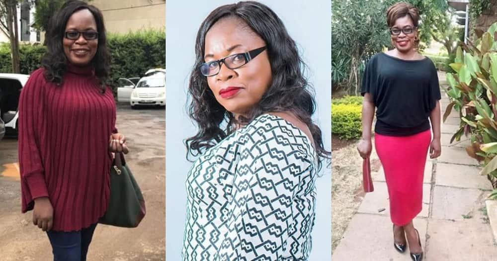 Picha za kupendeza za mwigizaji wa kipindi maarufu cha Papa Shurandula, Mama Nyaguthii