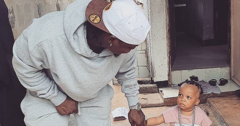 Man claims paternity of Harmonize's daughter after singer apologised for neglecting her