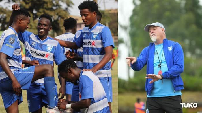 AFC Leopards Coach Patrick Aussems Confident Ingwe Will Beat Gor Mahia