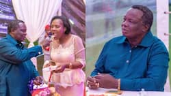 """Mary Kilobi Lashes out At Follower Who Criticised Her for Posting Hubby Atwoli: """"Hujielewi"""""""