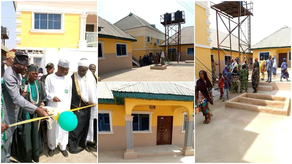 Man builds big compound with 100 rooms, hands over keep to his kinsmen