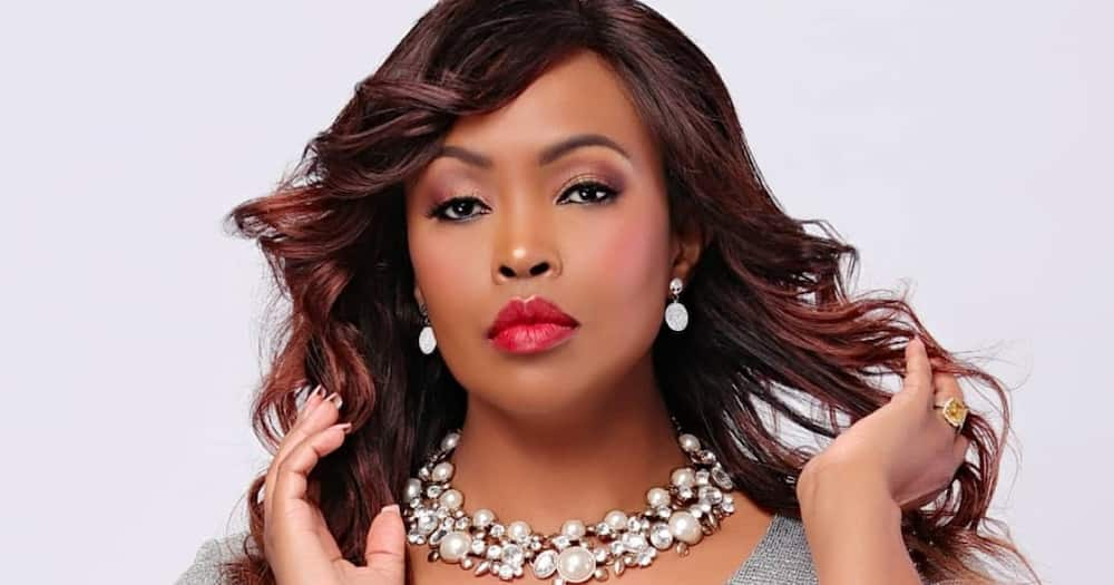 Caroline Mutoko's son, daughter spotted gleefully playing together in sweet TBT video