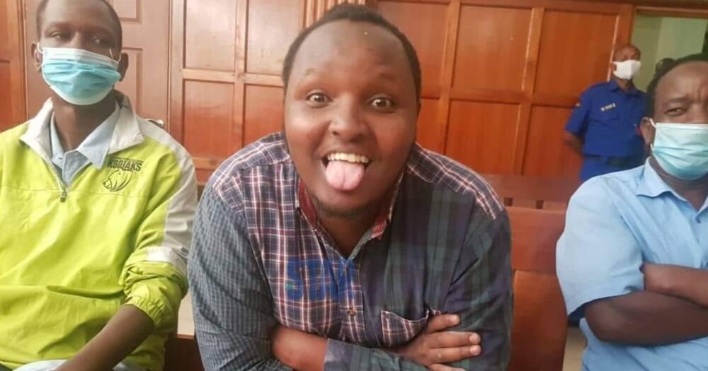 Video of Waititu's son calling friends to help raise KSh 30k cash bail tickles Kenyans